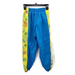 Vintage L.A. Gear nylon neon jogger pants in small